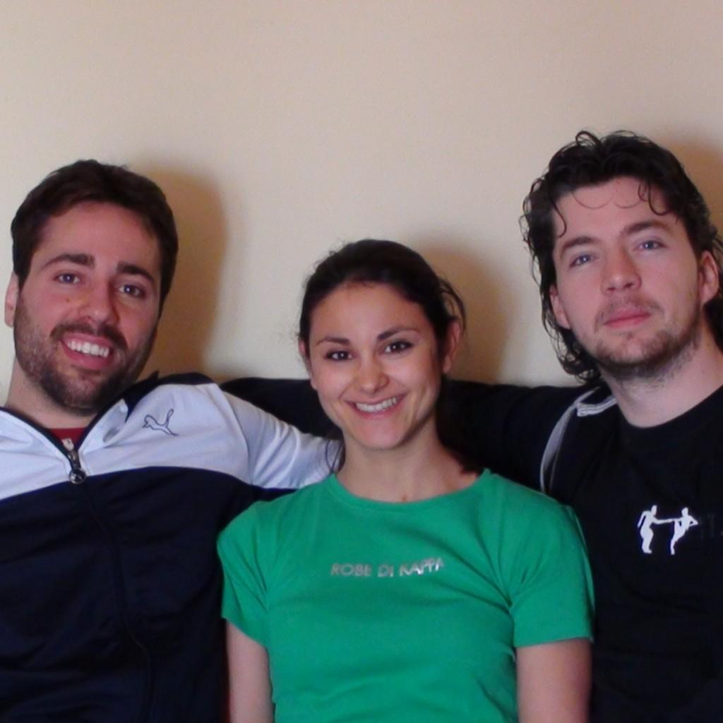 Giulio, Maria Rosa e Maurizio