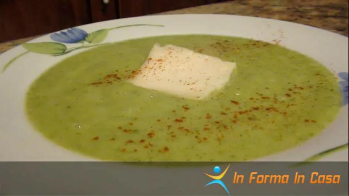 minestra di zucchine e yogurt