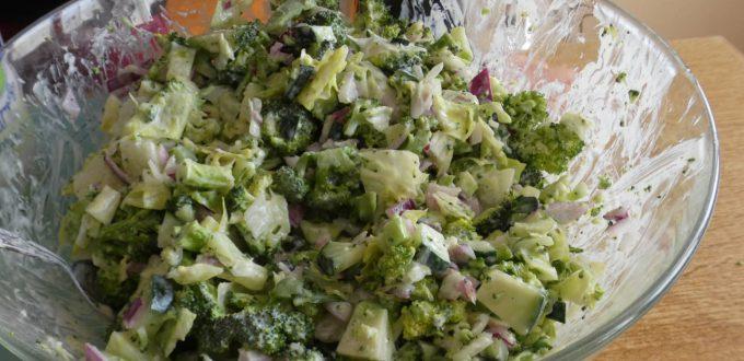 insalata primaverile di broccoli